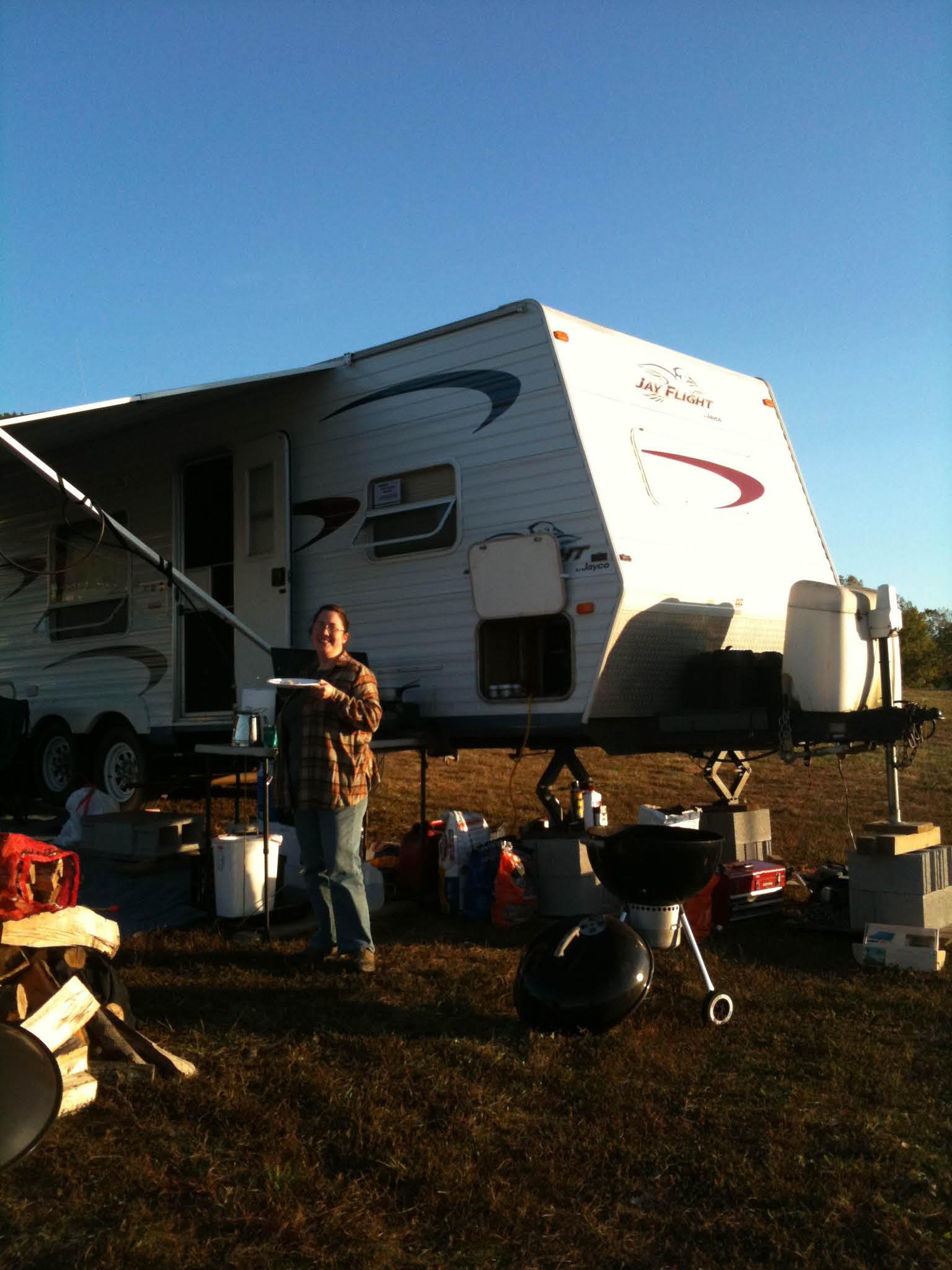 Boondocking at Martinsville Speedway