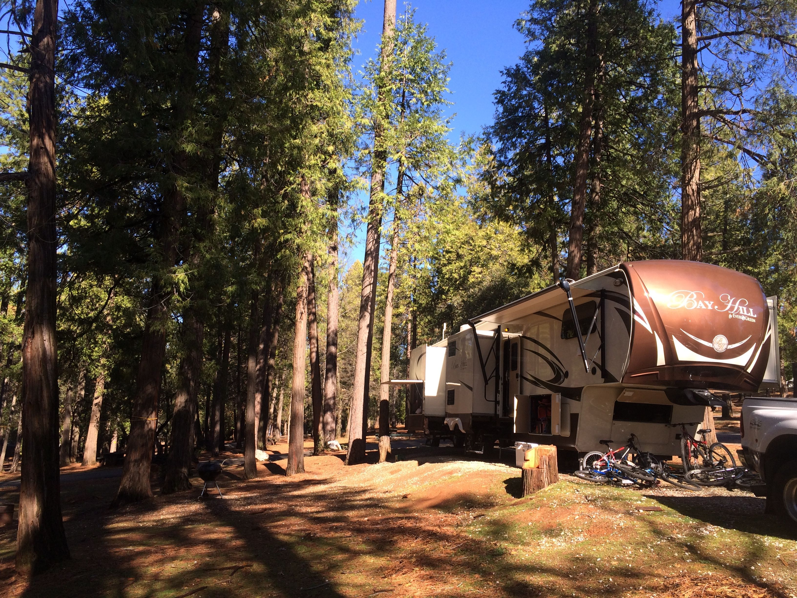 Our Campsite in Pine Grove, CA