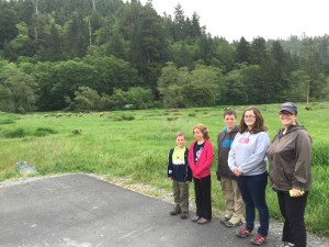 The family at Elk Meadow